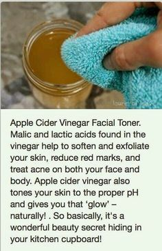 Apple Cider Vinger Facial Toner