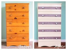 Find out how you can transform your old dresser for just $40!