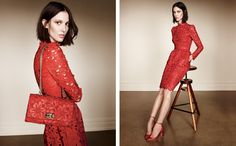 In love with this red dress....Nordstrom Enlists 22 Top Models for its Portraits of Style Lookbook