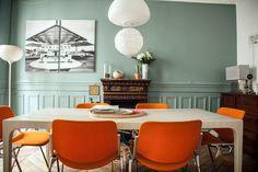 Un appartement parisien à l'esprit vintage et moderne (7)