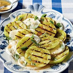 Grilled Green Tomatoes Caprese - 6 Ways with Green Tomatoes: Fried Green Tomatoes Recipe and More! - Southern Living