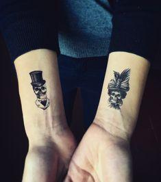 tatouage couple 20 idees pour se faire tatouer a deux