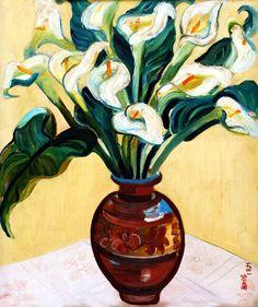 Guan Zilan (1903-1986) - 1941 Arrowhead Flowers