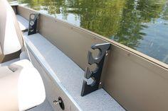 Pro Camp 161 port rod storage | Smoker Craft Fishing Boat