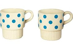 Sue...a cup for you and a cup for me!  these remind me of you!