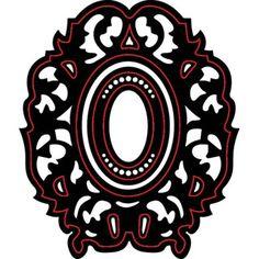 Darice®+Craft+Dies:+Ornate+Oblong+Die+Cut+Frames