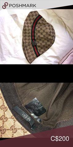 Original Gucci Hat Kids XL Gucci hat, fits like adults S/M. Gucci Accessories Hats