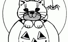 halloween coloring pages for toddlers gallery