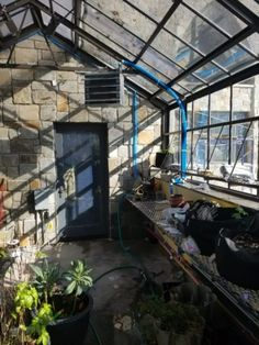 How to heat a greenhouse: December 18th, 2017 So I've planted my greenhouse and I have things growing. I… #PlantsandGardening #retainingwall