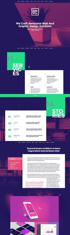 Boxus - One Page WordPress Theme. WordPress Portfolio Themes. $29.00