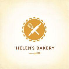 Helen´s bakery | Logo Design Gallery Inspiration | LogoMix