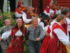 Midsummer Eve in Dalarna (1000 Places) - Halberg, Svealand, Sweden