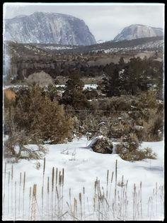 Mountains Snow Winter Tierra Amarilla New Mexico Landscape Photography Photographer Dallas Photoworks