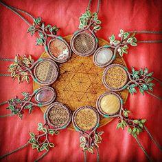 Tree of Life Necklaces #micromacrame #macrame #macrameartist #macrameart #handmadejewelry #macramé #sacredgeometry #sacredgeometryart #sacredgeometryartist #sacredgeometrypendant #sacredgeometryjewelry #treeoflife #treenecklace #macrametreenecklace #macrametree #rosequartz #redjasper #tigereye #pietersite #cherrywood #seedoflife #tetrahedron #walnutwood #amethyst #amulet #talisman #naturalmedicine #labradorite #festivalwear #bandedonyx