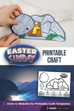 Top 10 Inexpensive DIY Christian Easter Crafts for Kids of All Ages - Blessed Beautie Bible Activities For Kids, Bible Crafts For Kids, Easter Crafts For Kids, Easter Activities, Preschool Crafts, Easter Decor, Easter Jesus Crafts, Sunday School Crafts For Kids, Sunday School Lessons