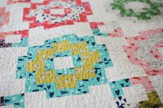 City Tiles Quilt {The scrappy cotton and steel version - Quilty Love How To Sew Baby Blanket, Baby Sewing, How To Take Photos, Quilting Projects, Quilt Blocks, Quilt Patterns, Things To Think About, Tiles, Take That
