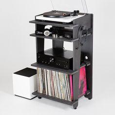 Line-Phono LP furniture - kickstarter coming August 2015.