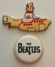 https://flic.kr/p/utom3u | The Beatles Yellow Submarine cookies