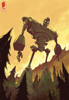 The Iron Giant by Nelson Daniel....BEST MOVIE EVER.... (I still have my Iron Giant toy that came with the VHS)