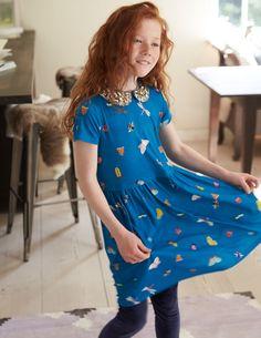 Mini Boden Sparkle Jersey Dress.