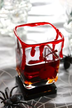 Halloween Cocktail Recipe: The Bloody Manhattan — 10-Minute Happy Hour