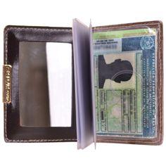 Porta Cartão Artlux com Espelho Nude - Marca Artlux