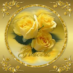 New Images Yellow Roses field Suggestions Flowers are generally a perfect method to convey sensations one might get regarding another. Flowers Gif, Love Flowers, Beautiful Gif, Beautiful Roses, Beautiful Pictures, Rosas Gif, Gif Bonito, Valentine Images, Rosa Rose