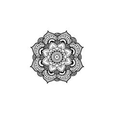 Mandala temporary tattoo   myTaT.com (6.65 AUD) ❤ liked on Polyvore featuring accessories and body art