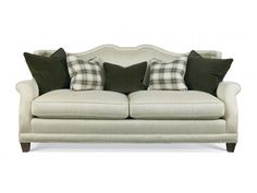 Shop for Hickory White Sofa, 4824-05, and other Living Room Sofas at Hickory Furniture Mart in Hickory, NC. Product Features. 2-Seat Cushions. Standard Pillows: (2) Throw Pillows (24''x24''). (2) Throw Pillows (21''x21''). (1) Kidney Pillow (16''x22'').