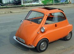 Harrington BB: Electric Descendent of the Isetta Microcar