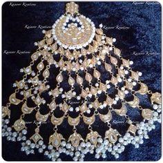 #statement #jhumar #kundan #jewellery #fashion #bollywood #jewelry #pearls #fashionblogger #style #designer Enquiries : 00447448472033 (watsapp/Viber) Email : Kainoork@gmail.com