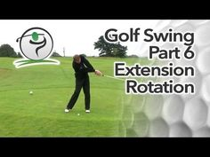 In the previous lesson we looked at the impact position. Immediately after impact, golf coaches will talk about correct extension and forearm rotation through the golf ball…  In this article and video, we'll look at what proper extension and rotation is, why it's important and how you can achieve it in your own golf swing.