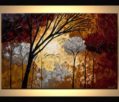 Modern Art Poster on Photographic Paper Stronger by OsnatFineArt