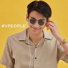 phum viphurit photoshoot from V Eye Wear✨🧡💛 Pretty Boys, Cute Boys, Real Model, Indie Music, Graphic Design Inspiration, Eye Candy, Crushes, Vintage Outfits, Street Wear