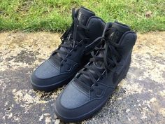 93a5a0742986 Details about Nike Son of Force Mid Size 9 UK EU 44 Mens Trainers Black  616281-012 NEW BOXED