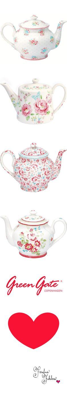 Frivolous Fabulous - Green Gate Tea Pot Love 2013 -2015  Collections