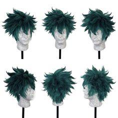 Boku no Hero Academia / My Hero Academia Midoriya Wig cosplay costume Costume Wigs, Cosplay Wigs, Cosplay Costumes, My Hero Academia, Deku Cosplay, Cosplay Ideas, Collection, Style, Swag