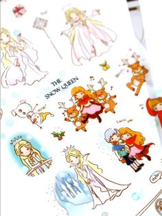 The Snow Queen Translucent Deco Sticker Funny by zakkalover