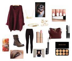 """Fall"" by ashleymartin-iii ❤ liked on Polyvore featuring мода, Steve Madden, Valentino, MAC Cosmetics, Charlotte Tilbury, Rebecca Minkoff, Mudd и Minnie Grace"