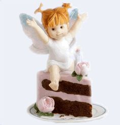 Birthday Cake Fairie - From Series Two of the My Little Kitchen Fairies collection