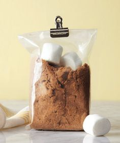 "Soften Brown Sugar ""When I reach for my brown sugar, I know it will be soft and moist, not hard as a rock, since Real Simple taught me to keep a few marshmallows in the bag."""