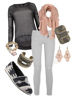"""Pretty in Pink 3"" by rikasfashionbox on Polyvore"