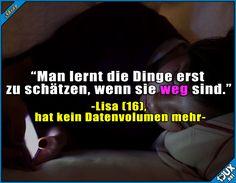 Die Jugend und hre Probleme heutzutage ^^'  #Datenvolumen #Jugend #Sprüche #lustig #Jodel #lustigeSprüche #Humor