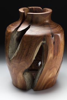 Juniper Fence Post Vase
