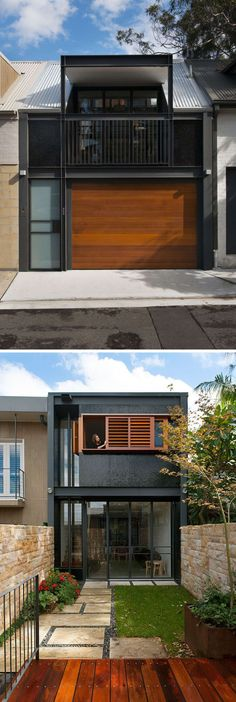 Celebrate Australia Day With These 14 Contemporary Australian Houses   This Sydney home opens up to an inner courtyard to enjoy an indoor/outdoor living.