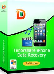 30% Off - Tenorshare iPhone Data Recovery. Recover files from iPhone without iTunes backup. Extract data from iTunes backup files. Save lost data from damaged, crashed, broken or smashed iPhone. Retrieve data lost after jailbreak, iOS upgrade, factory setting restore. Backup iPhone data to local computer freely. Support the newest iPhone 5/iOS6.