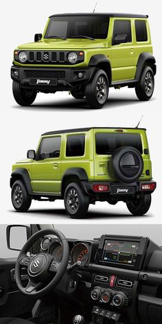 2019 Suzuki Jimny - Suzuki you nailed it! Please bring this back to the U. New Suzuki Jimny, Jimny 4x4, Suzuki Cars, Kei Car, Offroader, Suv Trucks, Jeep Tj, Jeep Pickup, Suzuki Swift