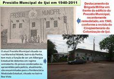 IJUÍ - RS - Memória Virtual: A vida de presidiário em Ijuí na década de 70....!...