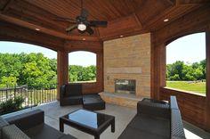 Custom Home Gallery | Outdoor Living | Regency Builders - Pewaukee, WI
