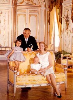 Official Portraits - Princely Family of Monaco -